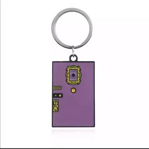 Accessories - Friends tv show girls purple door keychain